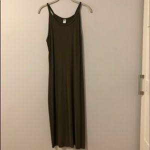 Old Navy Knit Stretch Maxi Dress